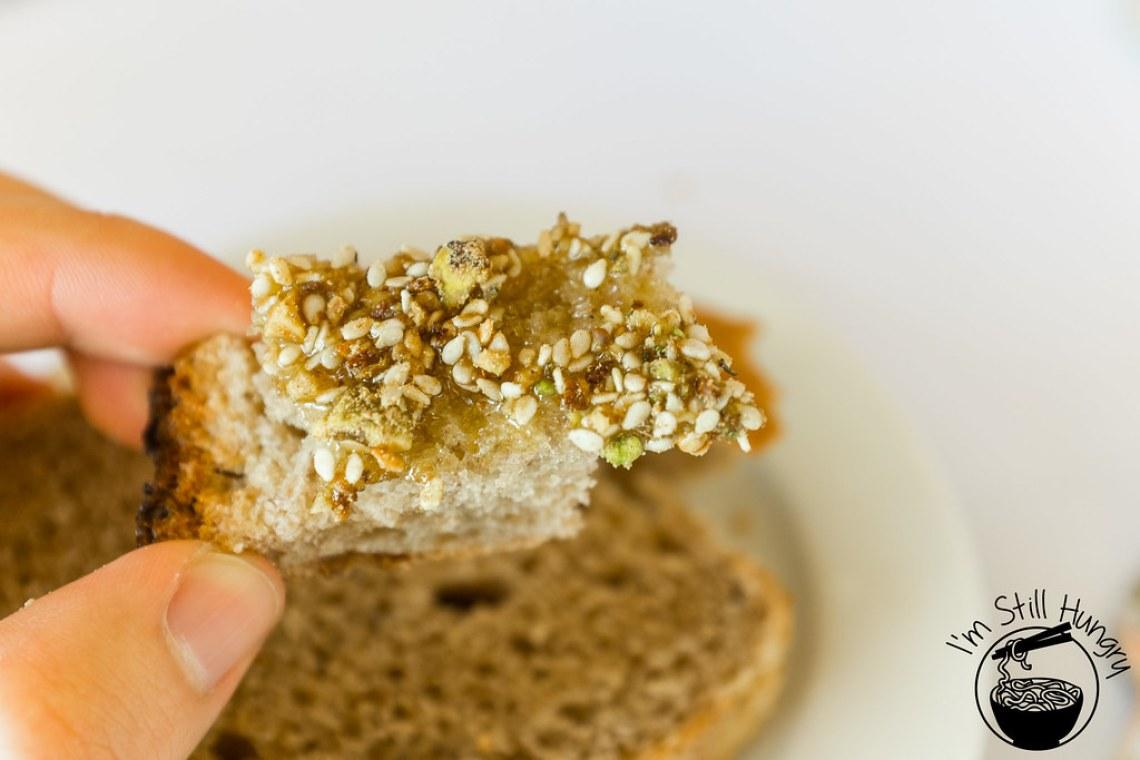 Bread w/dukkah flanagan's dining room