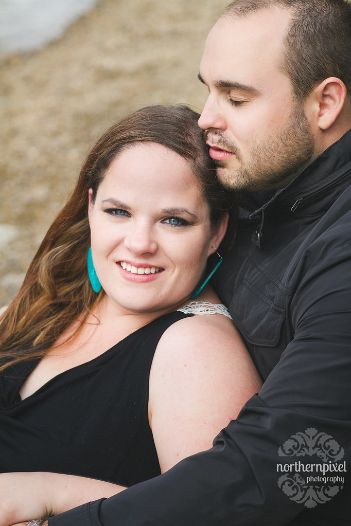 Engagement Session at Pyramid Lake, Jasper