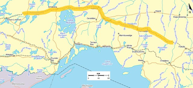 Sioux Lookout to past Hornepayne