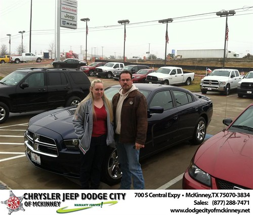 Thank you to John Hampton on your new 2014 #Dodge #Charger from George Rutledge and everyone at Dodge City of McKinney! #NewCarSmell by Dodge City McKinney Texas