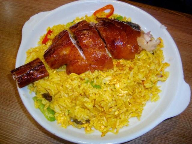 Portuguese Style Roasted Goose Set (Roasted Goose With Portuguese Fried Rice)