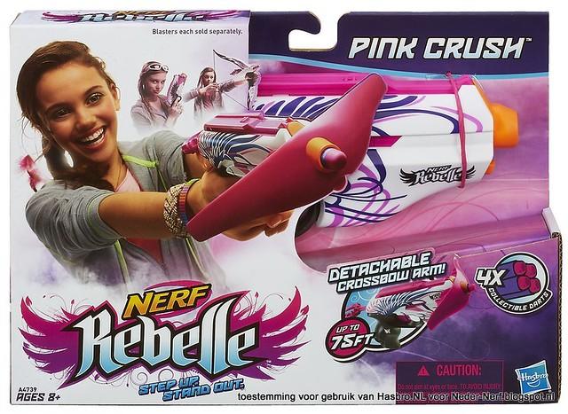 Nerf Rebelle Pink Crush Box Neder-Nerf