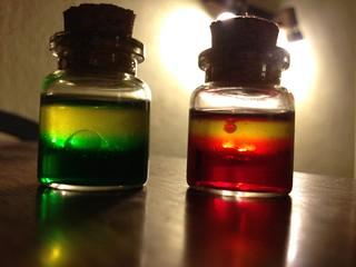 oil lamps