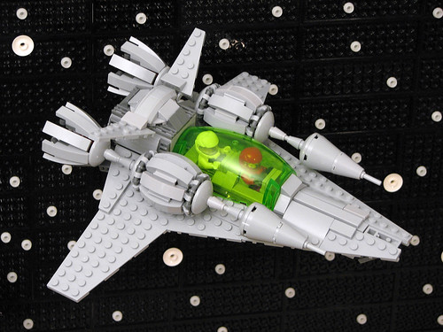 X2 Patrol Craft in Space