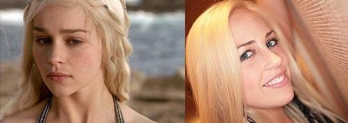 09. Emilia Clarke (Daenerys) - Jayden Pierson