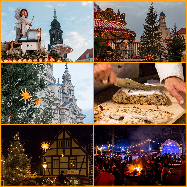 Weihnachtsgruß aus Dresden