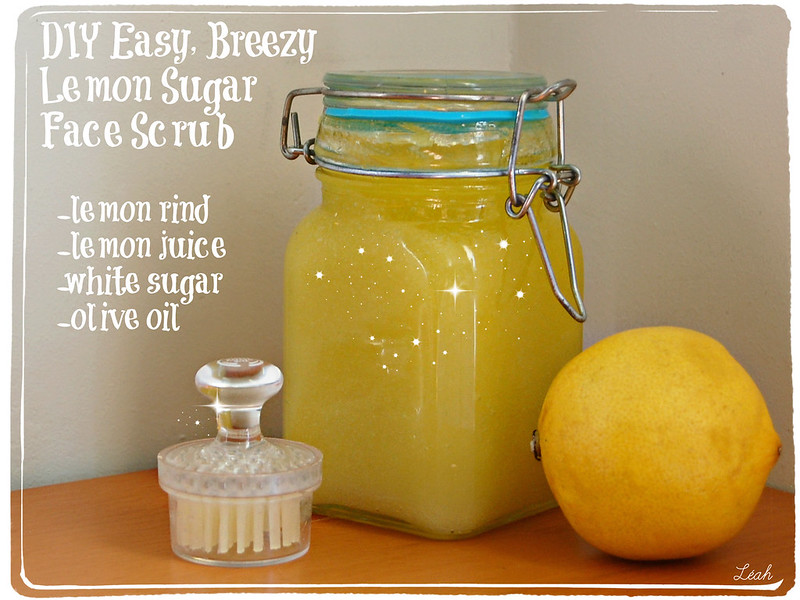 Make Your Own Face Scrub at Home