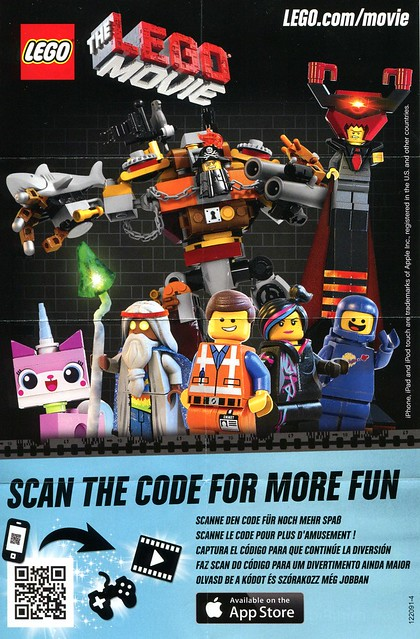 71004 LEGO Minifigures The LEGO Movie Series INS2