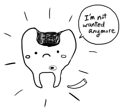 My poor, unwanted tooth