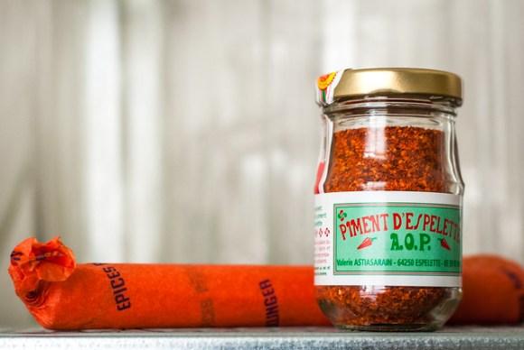 Piment d'Espelette van Epices Roellinger in Parijs