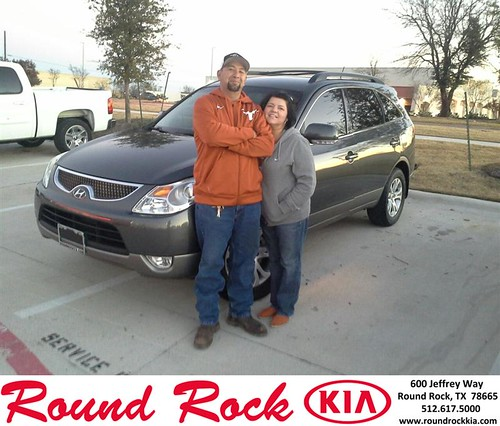 Thank you to Beatrice Aguilar on your new 2010 #Hyundai #Veracruz from Eric Armendariz and everyone at Round Rock Kia! #NewCarSmell - Copy by RoundRockKia
