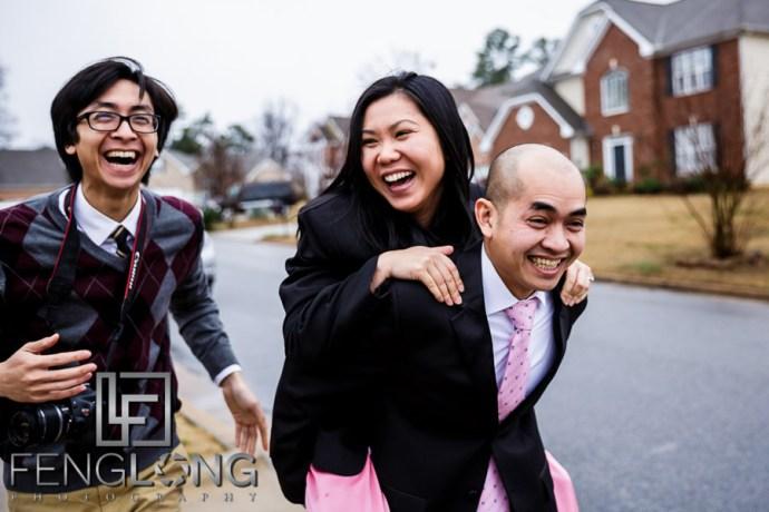 Atlanta Vietnamese Wedding at Happy Valley