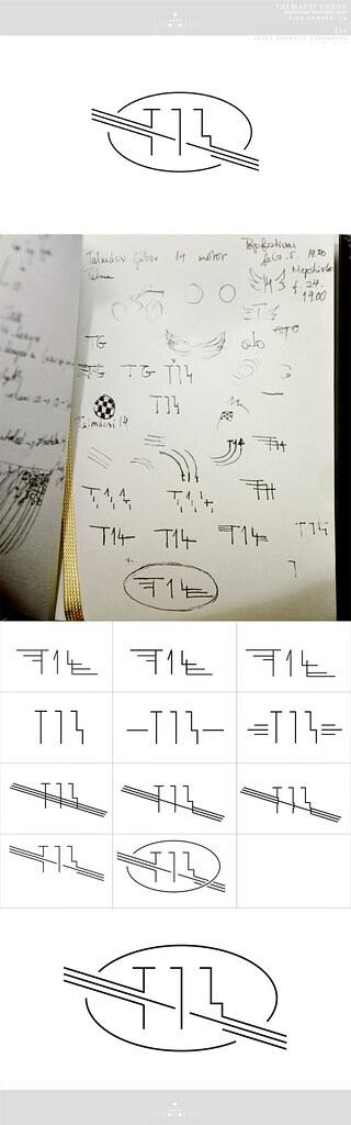 speed logo design - T14 - the process