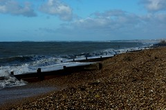 20131029-01_Pebble Beach + Groynes - Milford on Sea