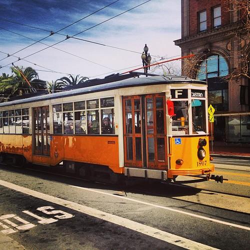 #sanfrancisco #streetcar by @MySoDotCom