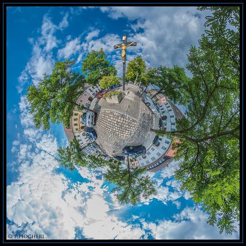 Kreuz in Bärnau am Marktplatz