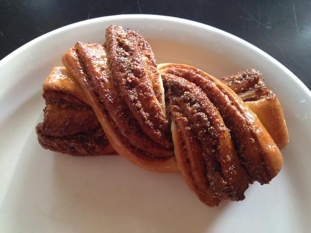 Hazelnut twist - Cafe Besalu