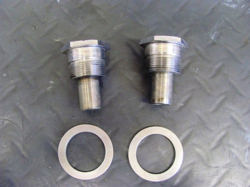 Fork Tube Cap Nut and Washer