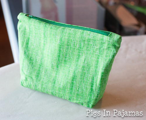 Green ditty bag