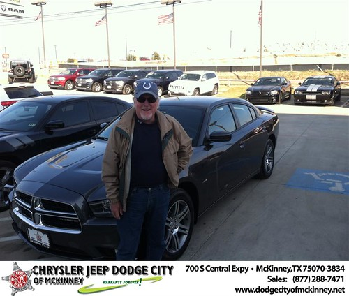 Thank you to Jack Mossberg on your new 2014 #Dodge #Charger from George Rutledge and everyone at Dodge City of McKinney! by Dodge City McKinney Texas