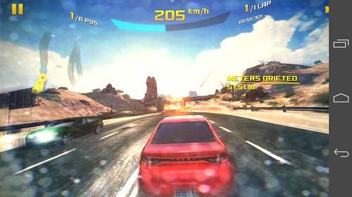 เกม Asphalt 8: Airborne บน Huawei Ascend P7