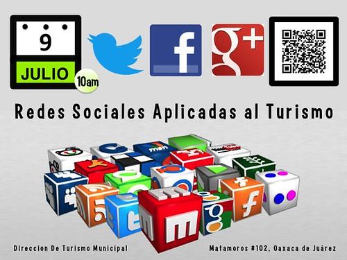 9 de julio: redes sociales aplicadas al turismo #oaxacatoday