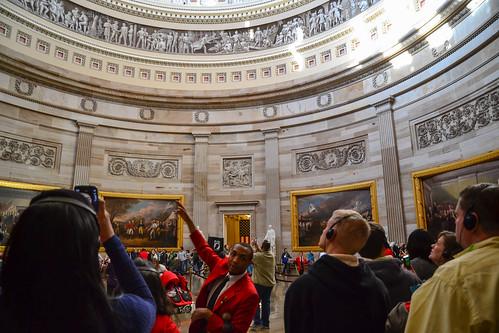Tour inside The Capitol's Rotunda