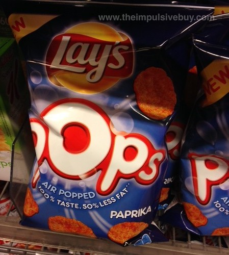 Lay's Pops Paprika (Netherlands)