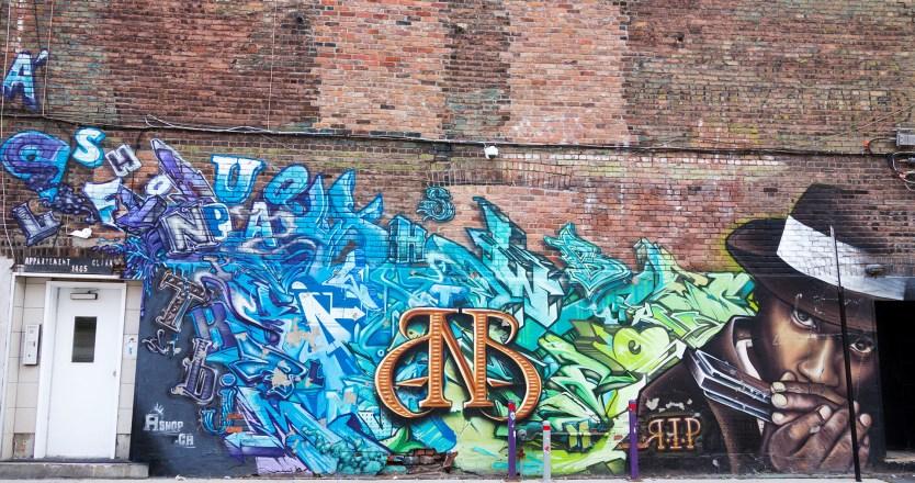 Bad News Brown Memorial - Mural