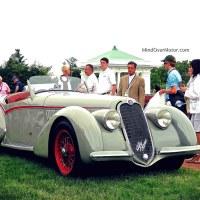 The Elegance At Hershey: 1938 Alfa Romeo 8C-2900B Spider