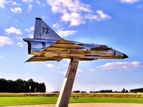 Fighter jet display by SpatzMe