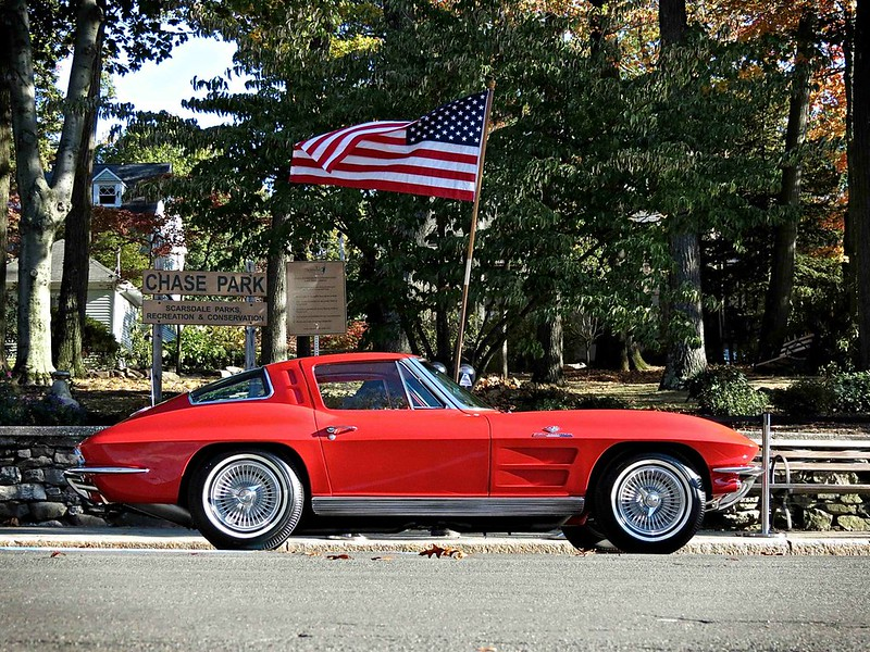 1963 Chevrolet Corvette Stingray at the Scarsdale Concours d'Elegance