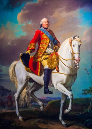 Louis-Philippe Duc d' Orleans Saluting His Army on the Battlefield