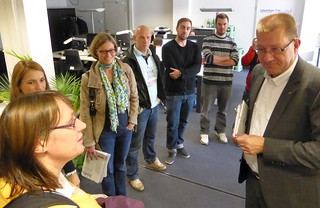 Besser Online 2013: Redaktionsbesuch FAZ.net