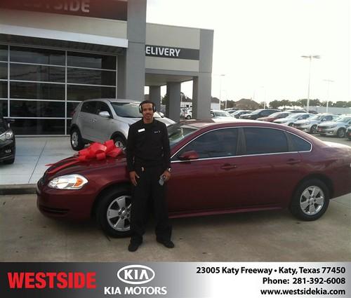 Westside KIA Houston Texas Customer Reviews and Testimonials-Randy Shelby by Westside KIA
