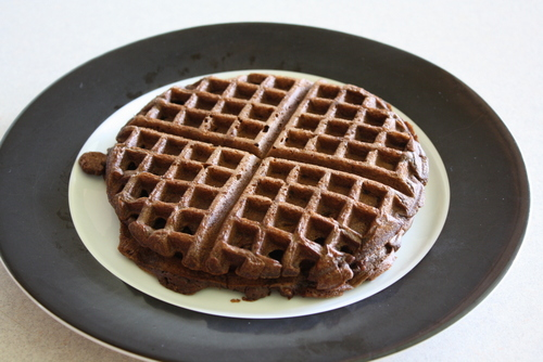 2013 06 Chocolate Waffles