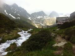 Tiefrastenhüttl und Bergbach