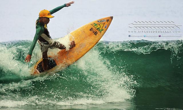 Surfing in Gubat Bay, Sorsogon