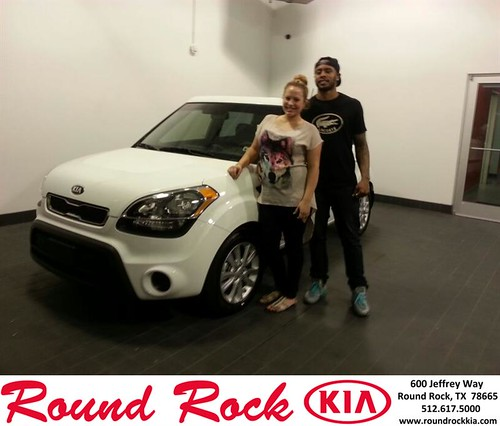Thank you to Ryan Pomeroy on your new car from Rudy Armendariz and everyone at Round Rock Kia! #NewCarSmell by RoundRockKia