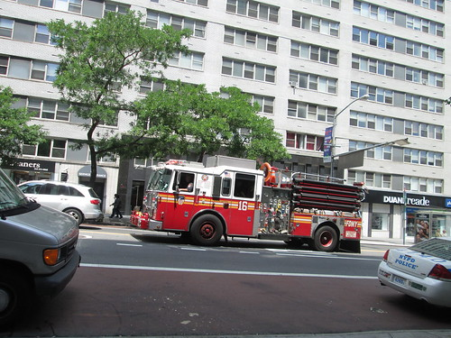 Fire Department at 34th St, NYC. Nueva York