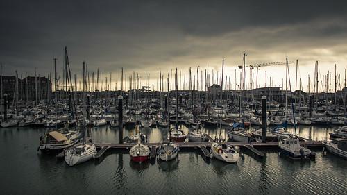 Marina (Le Port de Plaisance) - Blankenberge, Belgique - Photo : Gilderic