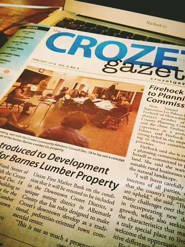 January Crozet Gazette