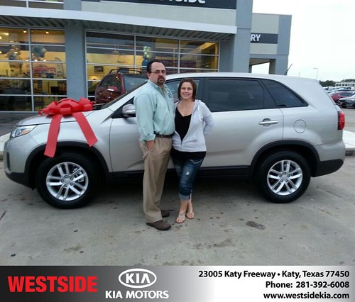 Westside KIA Houston Texas Customer Reviews and Testimonials-Richard Bradford by Westside KIA