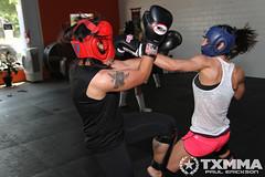 Austin Women's Muay Thai Group - May Training Session