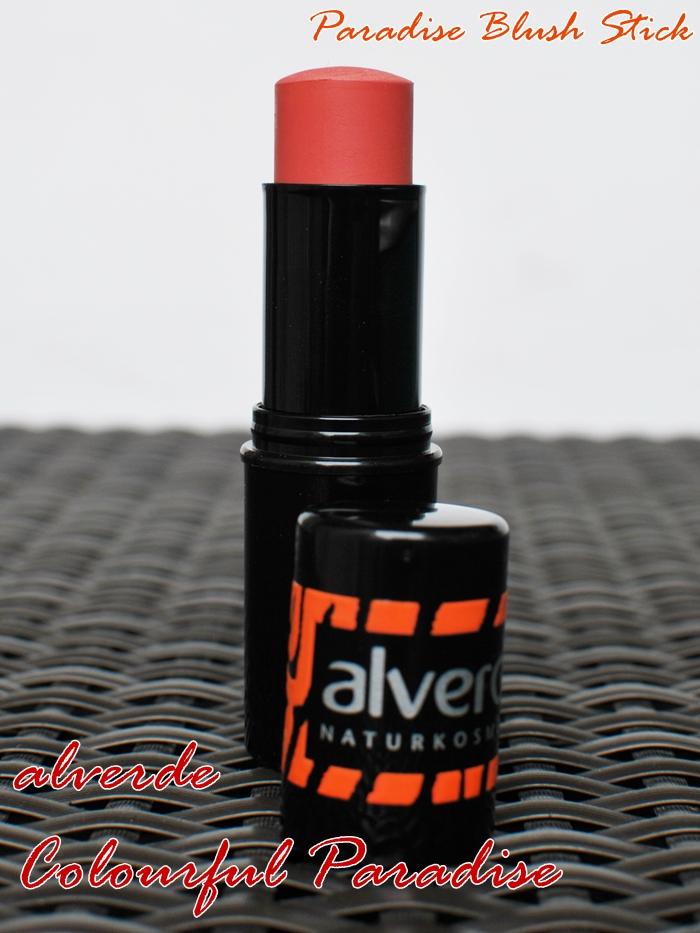 alverde paradise blush stick 10 Burning Sunset