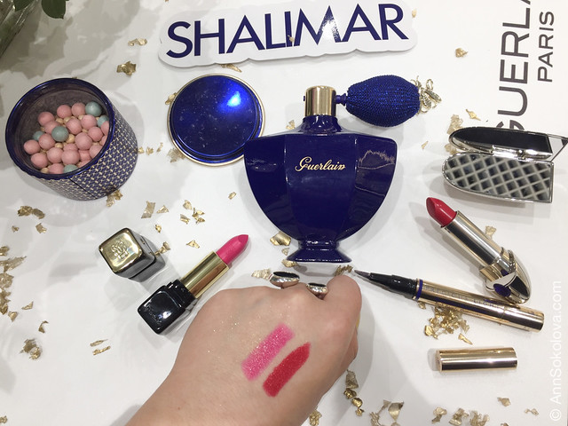 10 Guerlain Shalimar Holiday Make Up Collection by Natalia Vodianova swatches