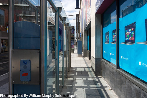 """Luas Tram Stop """"Jervis"""" On Abbey Street In Dublin [Anti-Social Behaviour Is A Serious Issue Here] by infomatique"""