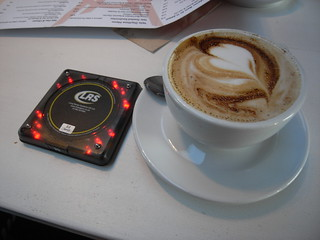 High tech coffee ready sensor