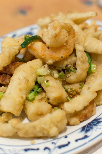 Spicy Salt Crispy Seafood