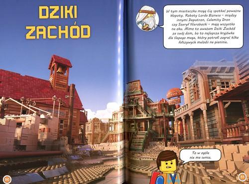 The LEGO Movie Życie jest Czadowe skan Dziki Zachód